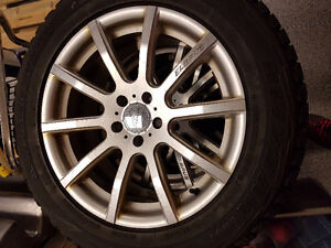 Mercedes ML350 Winter Wheels and Tires Kitchener / Waterloo Kitchener Area image 1