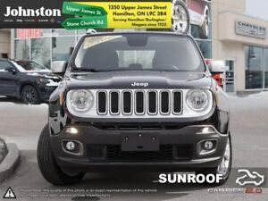 2017 Jeep Renegade Limited  Release Your Renegade Lthr/Bluetooth