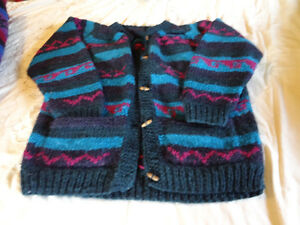 Hand Knit Sweaters from Nepal