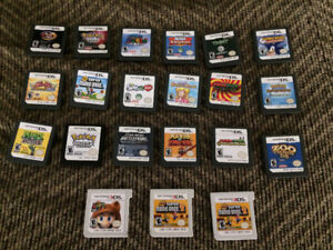 Various DS 3DS games - Pokemon, Kirby, Mario Bros, Peach, + MORE