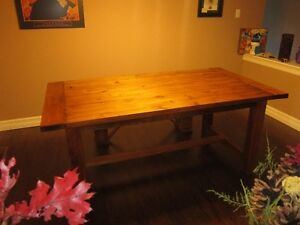 MRH Farmhouse tables and benches