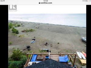 Waterfront beach house for rent