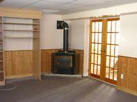 2 BDR basemebt apartment