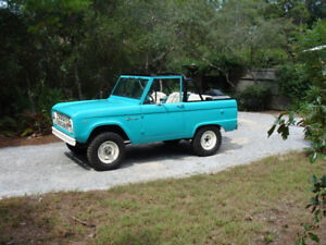 Looking for 1966-77 Ford Bronco parts or parts vehicle