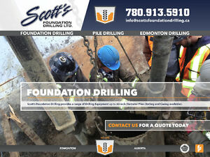 Residential/Commercial Pile Drilling