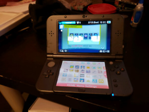 """""""New"""" Nintendo 3DS w/ 19 games (3 physical 16 on 32gb sd card)"""