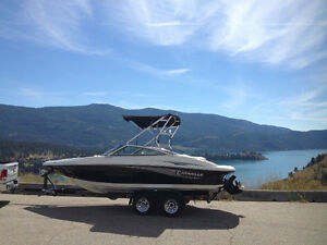 BEAUTIFUL 22'  CARAVELLE 217 LS - 98 HRS - MUST SELL - VERNON BC