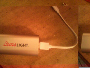 Coors Light Cell Phone Charger