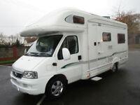 Bessacarr E725 Luxury 4 Berth Rear Lounge Motorhome For Sale