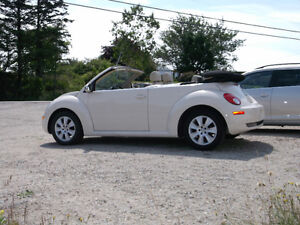 2008 Volkswagen Beetle Convertible,YARMOUTH ONLY $10500.00
