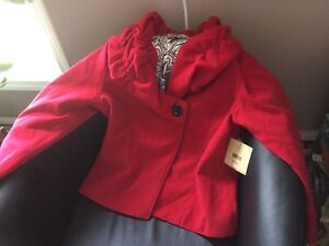 Brand new with tags red jacket