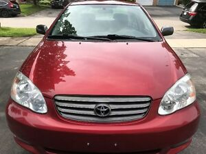 2004 Toyota Corolla Certified Low KMs Toyota Dealer Maintained
