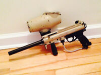 Paintball Gun and Mask for sale!