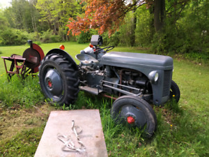 Fergusson Gasoline TEA20 Tractor with PTO