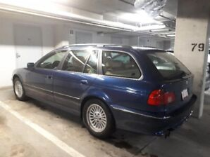 BMW 528i Touring 2000 Biaritz blue rare wagon