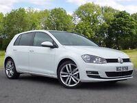 Volkswagen Golf 1.6 TDI BlueMotion Tech GT Edition 5dr (start/stop) (white) 2016