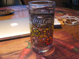 Set of 6 Vintage Coke Glasses From the '70's