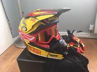 Answer rockstar motocross helmet