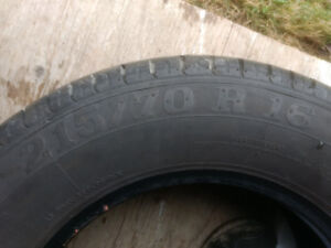 All Season tires 215/70/R16