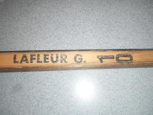 recherche des bâtons de hockey Guy Lafleur canadiens de montréal
