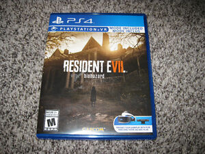 RESIDENT EVIL BIOHAZARD PLAYSTATION 4 PS4