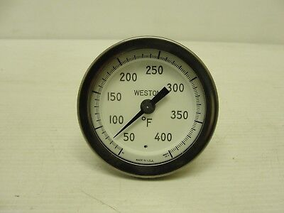 Used Weston Dial Probe Thermometer 50-400 Degrees