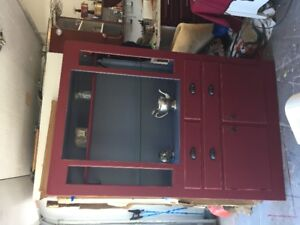 Large Chalk Painted Cabinet