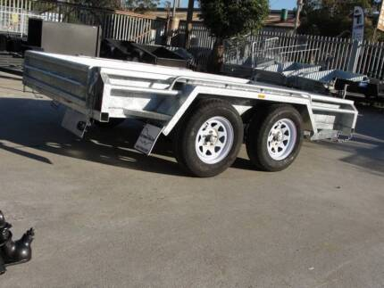 10x5 Box Tandem Galvanised - Australian Made Quality - 1990kg GVM Thomastown Whittlesea Area Preview