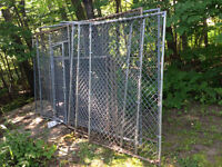 fencing previously used for a 25sq ft dog run