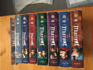 Smallville dvds