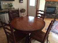 Moving sale. Beautiful, New Pier One dining room set