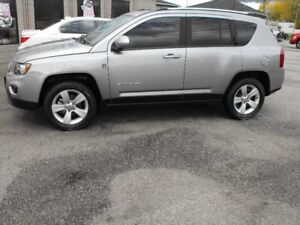 SOLD    2016 JEEP 4X4 COMPASS  SUNROOF  LEATHER   21 KMS