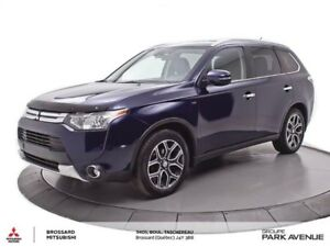 2015 Mitsubishi Outlander GT S-AWC 7 PASS. CUIR+TOIT+HITCH * ven