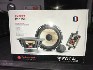 Focal  PS165 f  automotive  speakers
