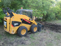 Skidsteer and Trailer services