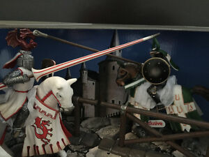 Schleich Tournament Knights Scenery Pack Toy Cambridge Kitchener Area image 2