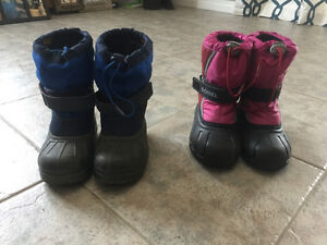 Girls and boys youth winter boots