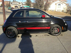 2013 Fiat 500 Abarth Coupe (2 door LOW KMS 16500 OBO