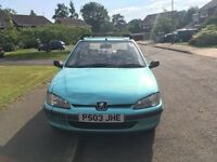 Peugeot 106 for sale - fantastic runner. FULL MOT