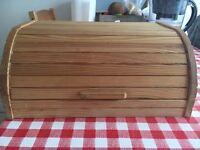 Ikea wood bread bin
