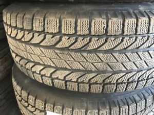 Winter tires for sale size 255/70/16