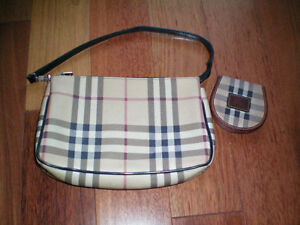 Burberry Pouch/Clutch and Coin Purse