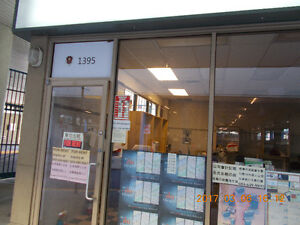 Commerical Retail Unit for rent Garden City Rd&Cambie Rd,Richmon