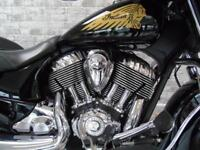 2015 '65 Indian Chieftain Thunder Black *stage 1 tuned Cracking Price!*