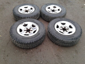 Tires and rims for 1999-2003 Silverado or Sierra