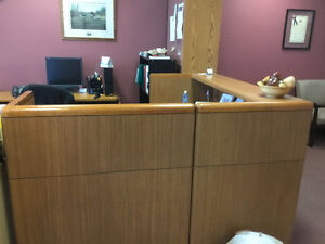 Board room chairs and credenza Cambridge Kitchener Area image 2