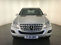 2011 MERCEDES-BENZ ML350 SPORT CDI BLUE EFFICIENCY AUTOMATIC FINANCE PX WELCOME