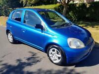 TOYOTA YARIS 1.3 VVT-i COLOUR COLLECTION - 5 DOOR - BLUE ** LOW MILES **