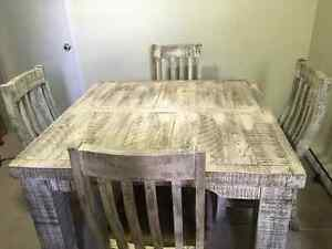 Beautiful Rustic Table custom made in Mexico