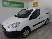 WHITE PEUGEOT PARTNER VAN 1.6 HDI PROFESSIONAL L1 850 **from £114 per month**
